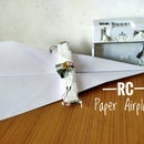 RC Paper Airplane (It Flies!)