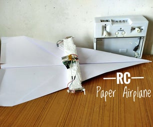 RC Paper Airplane (It Flies!)