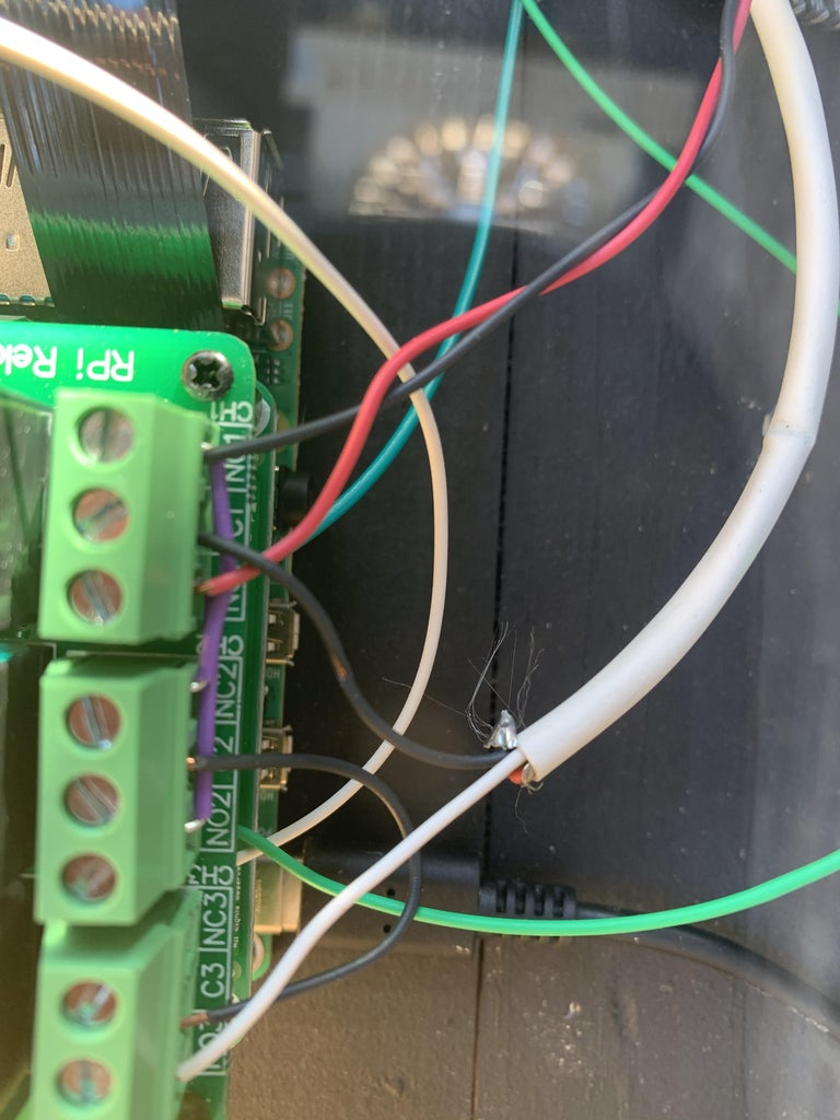 Relay Cape Wiring