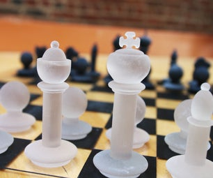 3D Printed Chess Piece Models