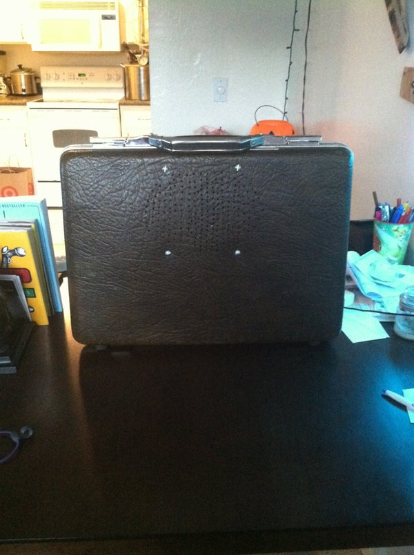 Briefcase Boombox Portable Speaker