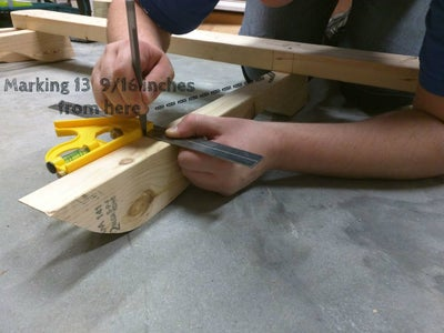 Attach Second Baseboard to Swing Seat Support Boards #1, #3 and #5.