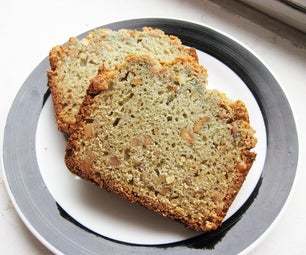 Fruit Juice Quick Bread With Toasted Peanut Butter Crust