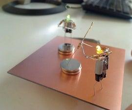 Tiny LED Blinking Figure