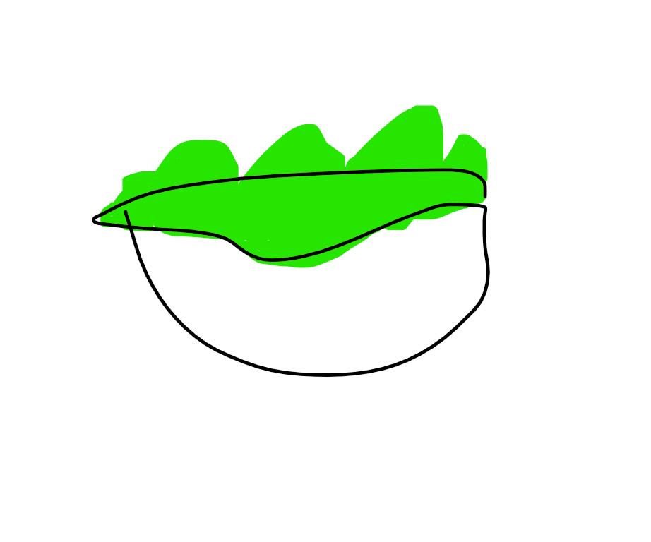 Bread End Into a Bowl