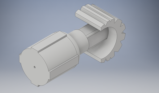 3rd Iteration Quadruped Robot Leg Calf