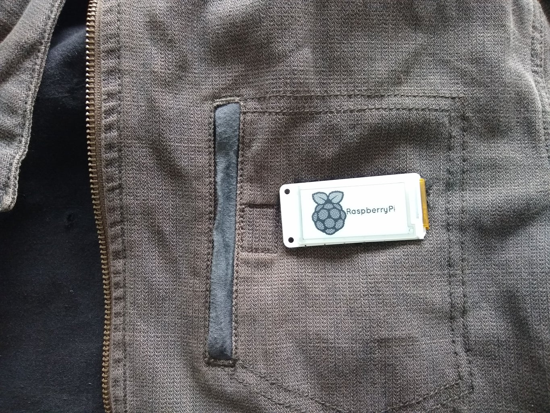 Wearable Electronic Badge