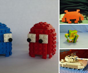 Lego Projects to Build With Your Kids
