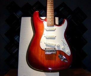 Concrete Guitar Stand