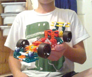 Retro-style Indy Car (My First Instructable)