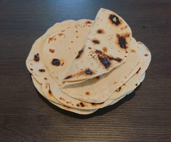 Speedy Flour Tortillas