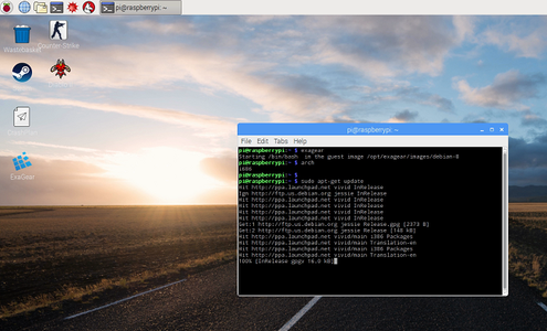 Launch X86 As a Guest System