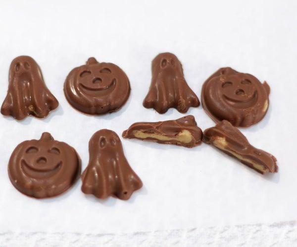 Halloween Shaped Peanut Butter Cups