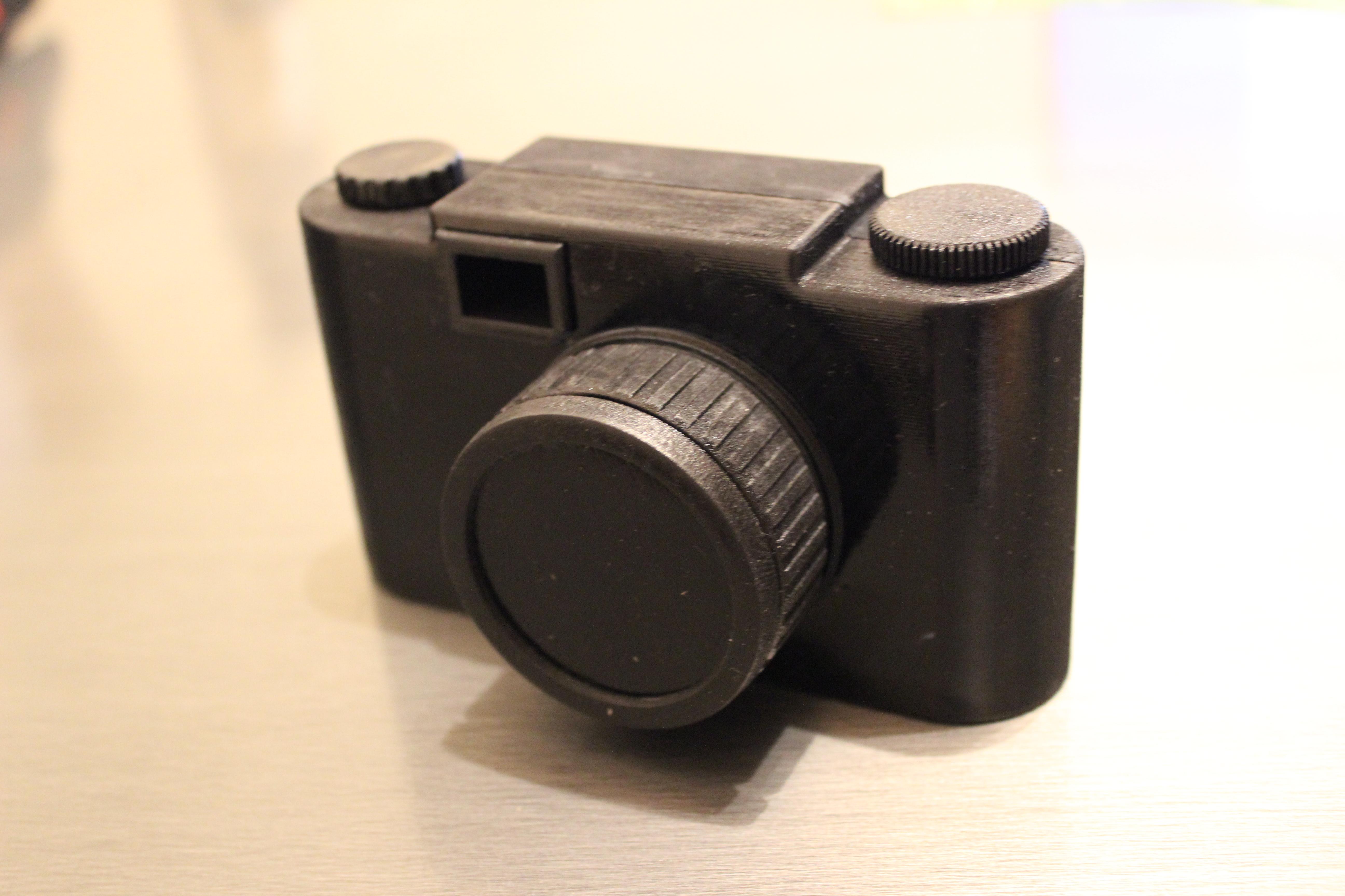 3d printed pinhole camera