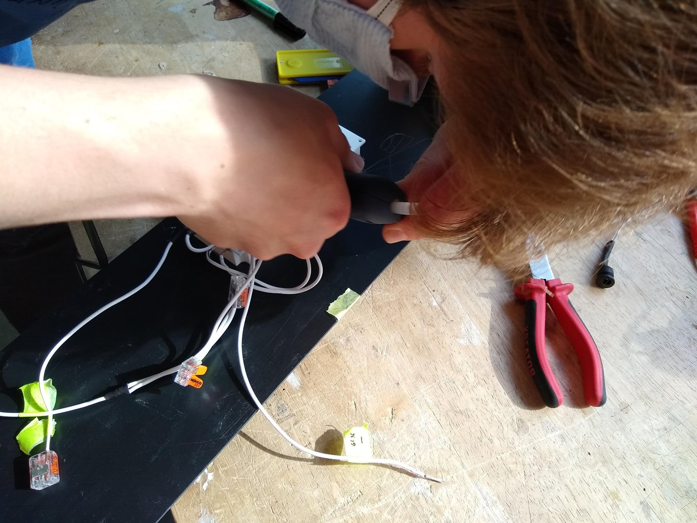 Step D5: Attach the Electronics to the Abs