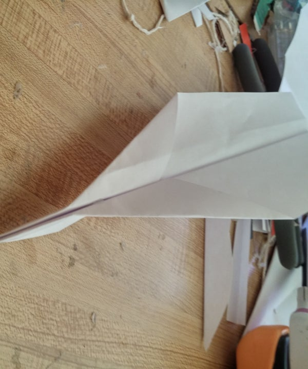 Easy-to-make Paper Biplane Glider