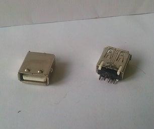 Free Female USB Connectors.