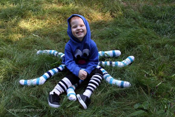 No-Sew Octopus Costume