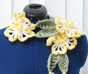 柠檬花围巾