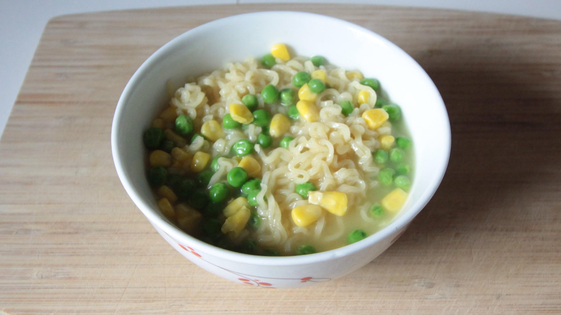 Use the Ramen to Cook Your Vegetables