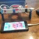 lego minecraft charger holder