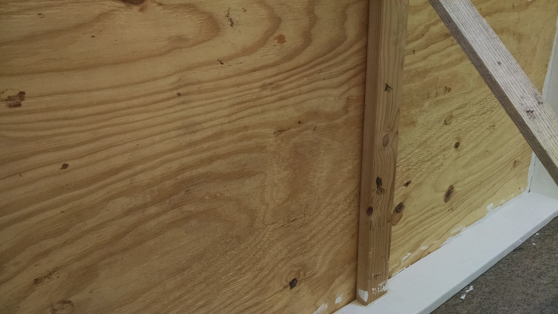 Cut and Install Plywood