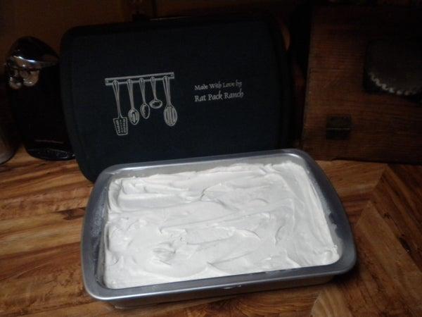 Melted Ice Cream Sandwich Cake