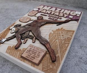 How to Make a 3D Wood Veneer Comic Cover