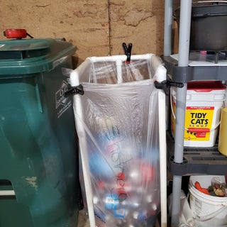 PVC Recycle Bags Holder