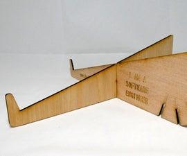 Laser Cut Adjustable Laptop Stand