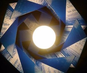 Dutch Design Suspending Lamp Shade.