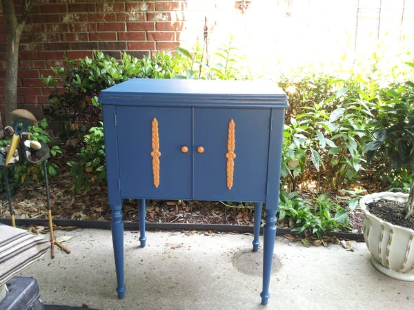 Vintage Cooler Cabinet