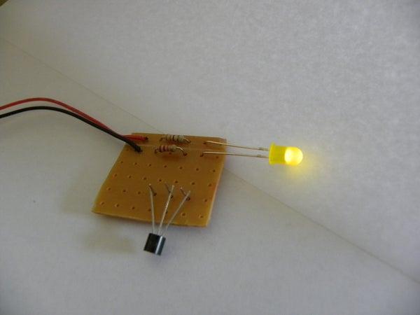 Simple BC547 Transistor Tester