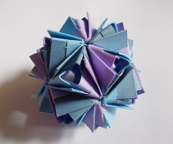 Sturdy Kusudama for the Origami-Impaired: Part 2