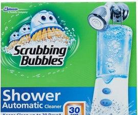 Scrubbing Bubbles Automatic Shower Cleaner Retrofit