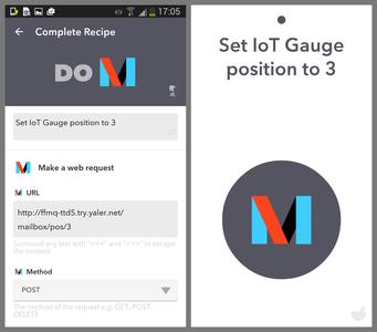 Creating a IFTTT Do Button for the IoT Gauge