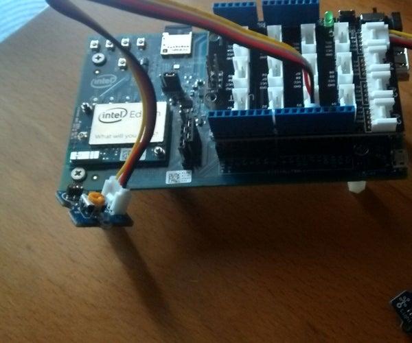 Intel Edison Spectrophotometer