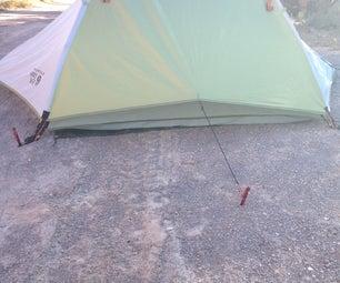 Tent Rainfly Modification