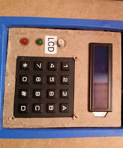 Arduino Password Lock