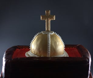 The Holy Hand Grenade of Antioch Cake