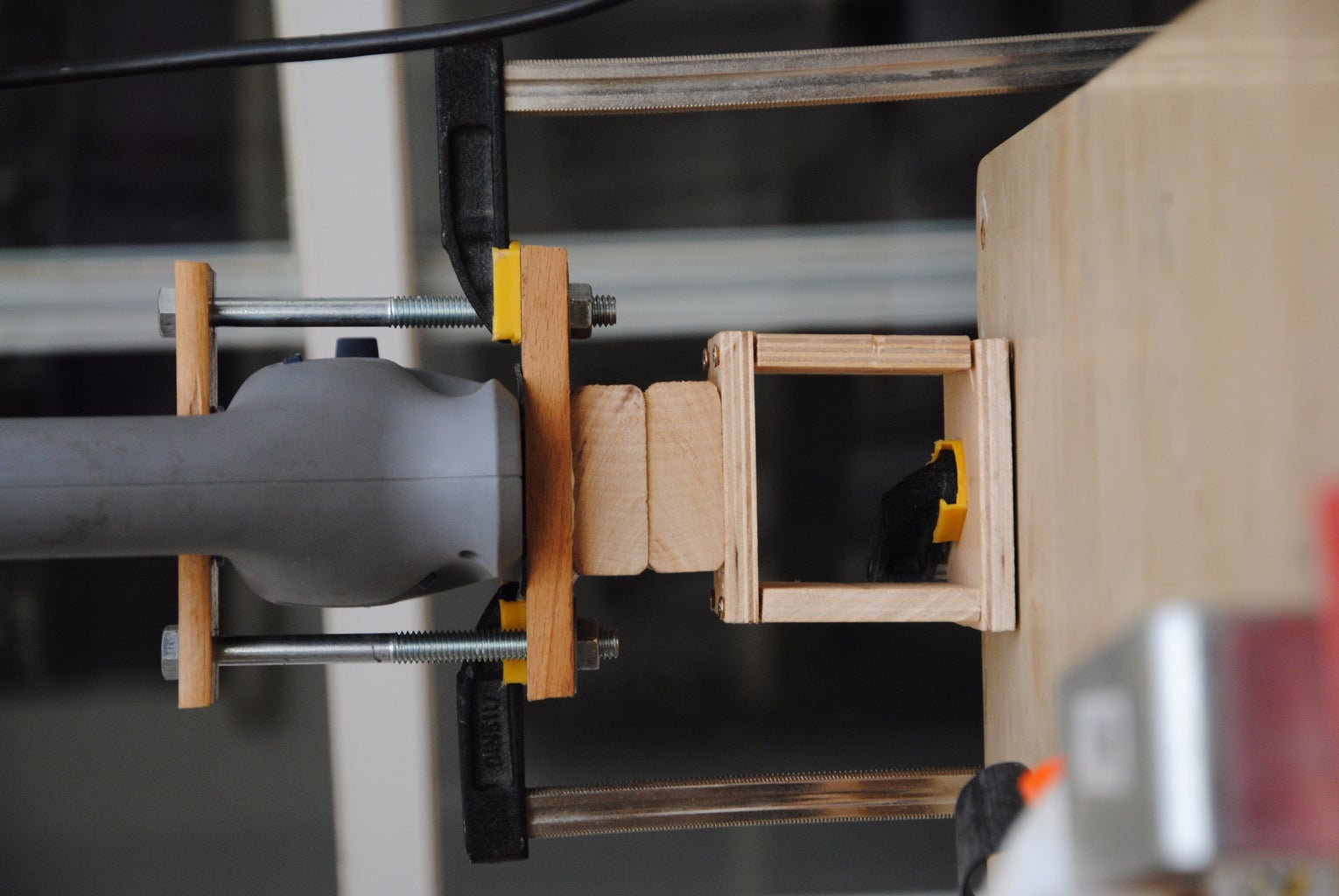 Success!: Connecting the Drill to the Cube (Spacers)