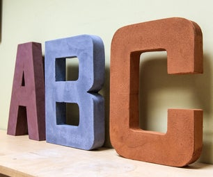 Concrete Letters the Easy Way