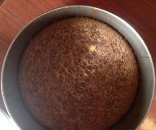 Molten Choco Lava Cake With Cadbury's Dairy Milk in Cooker