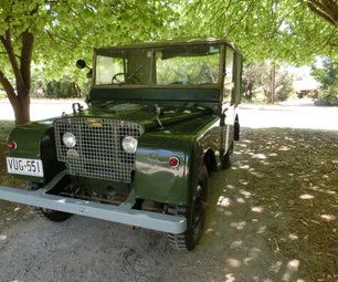LEARNING ABOUT THE LAND ROVER SERIES 1