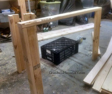Tall Garden Planter on Wheels: How to Build