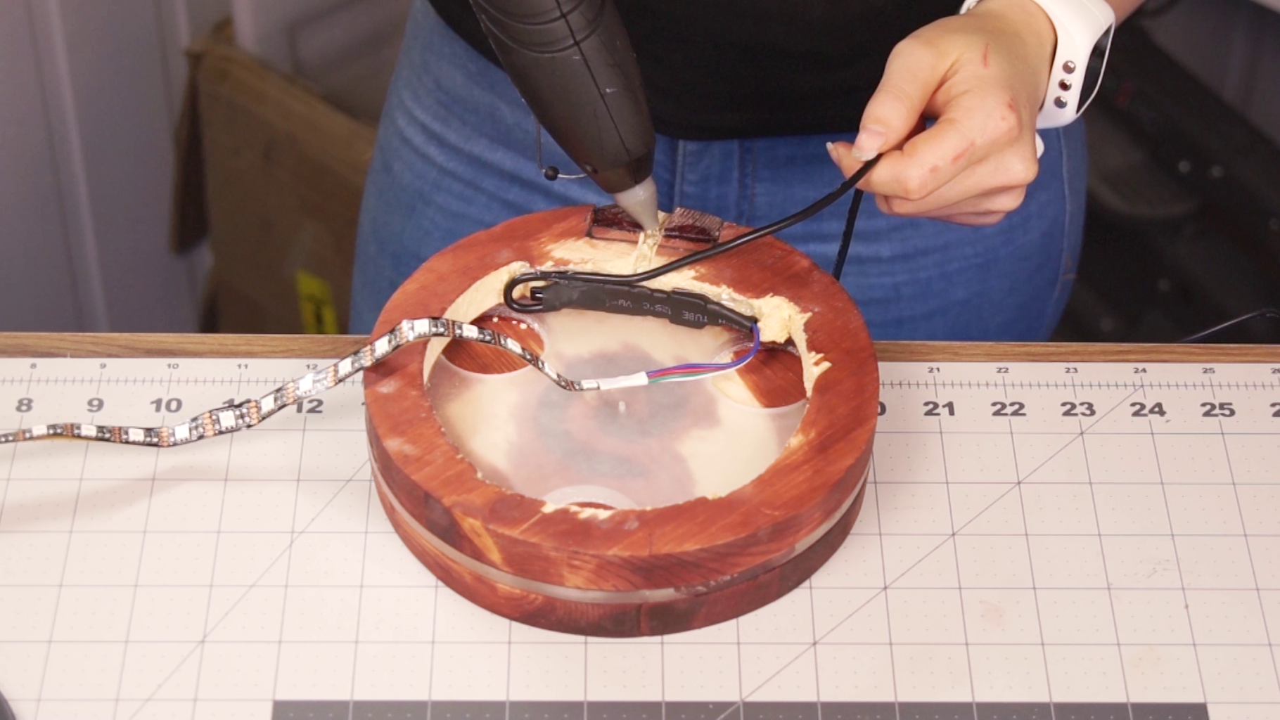 File Path for Wire and Glue LED-strip