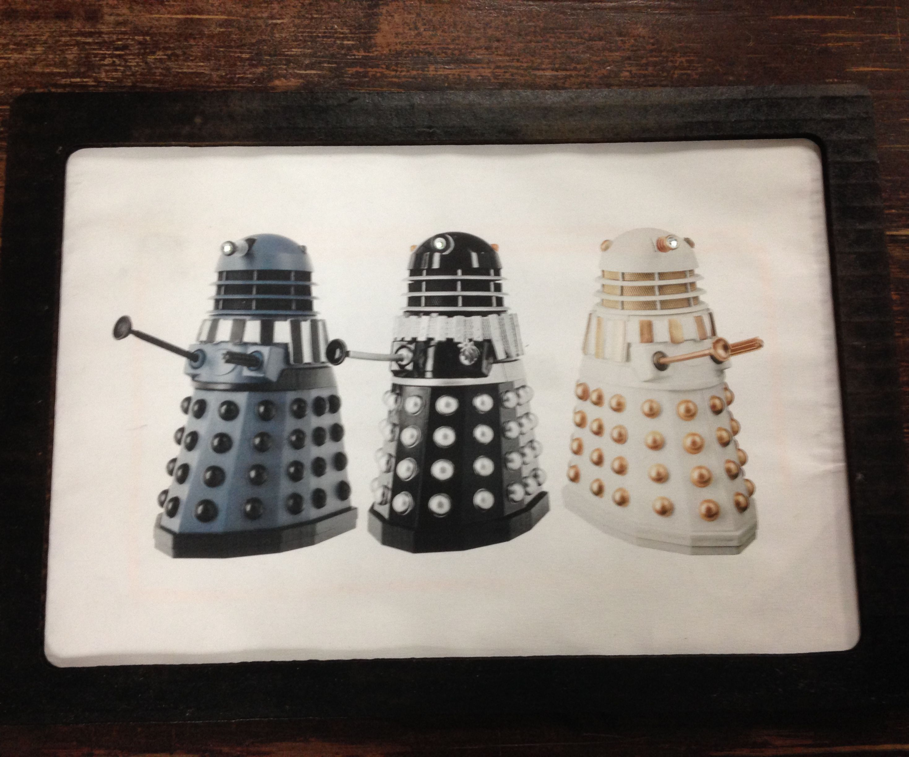 Dalek Interactive Wall Hanging with Chibitronics