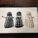 Dalek Interactive Wall Hanging with Chibitronics