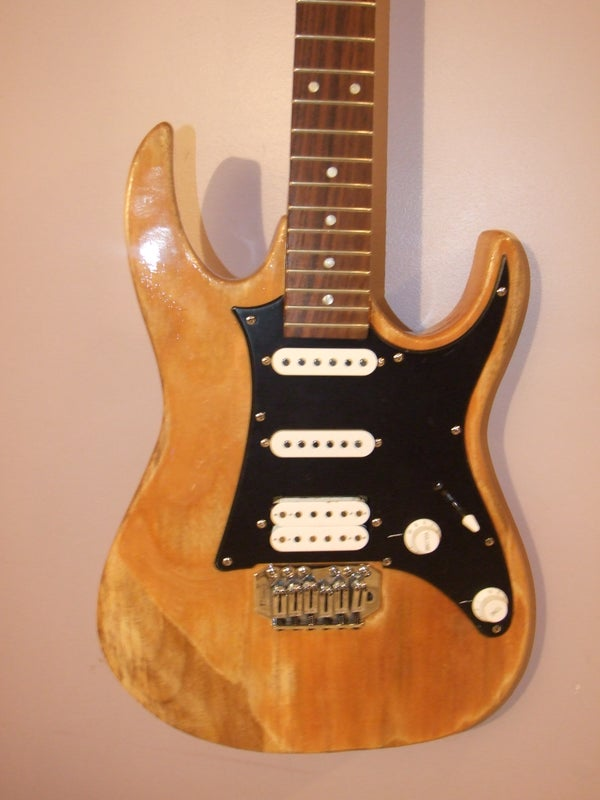 My Homebuilt Guitar