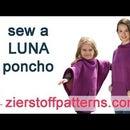 Sew a LUNA Poncho - Designed by Zierstoff